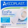 Пластырь медицинский Ecoplast EcoFix на тканой основе 1.25 см х 5 м 1 шт