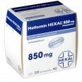 Метформин гексал табл. п/плен. оболочкой 850 мг №120