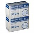 Метформин гексал табл. п/плен. оболочкой 500 мг №120