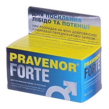 Правенор форте капс. банка пластик., в карт. коробке №60 инструкция и цены