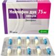 Наклофен дуо капс. 75 мг блистер №10
