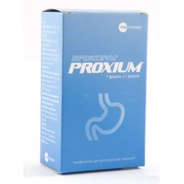 Проксиум лиофил. д/р-ра д/ин. 40 мг фл., с раств. в амп. 10 мл инструкция и цены