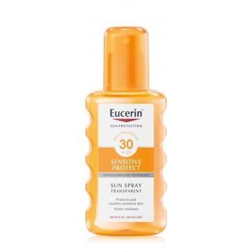 Eucerin солнцезащитный прозрачный спрей с фактором уф-защиты 30 200 мл цены и отзывы