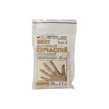 Бинт эластичный сетчатый трубчатый тип-2, 25 см х 1 см, на палец (полиэстер) инструкция и цены