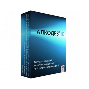 Алкодез ic табл. 0,5 г блистер №4 инструкция и цены