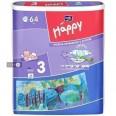 Подгузники детские Bella Baby Happy Midi 5-9 кг 64 шт