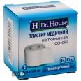 Пластырь медицинский Dr. House на тканевой основе 4 см х 500 см 1 шт в картонной упаковке