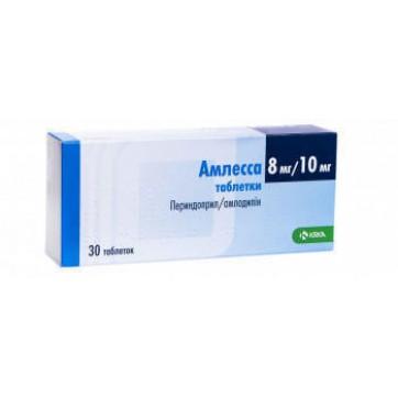 Амлесса табл. 8 мг + 10 мг блістер №30 інструкція та ціни