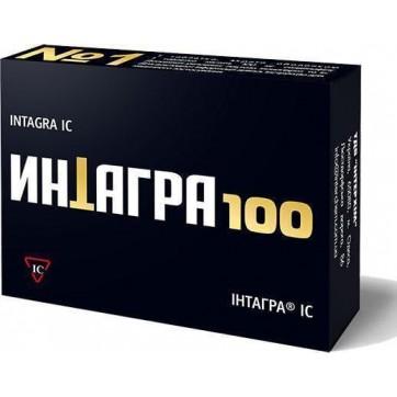 Інтагра ic табл. в/о 100 мг, в пачці інструкція та ціни