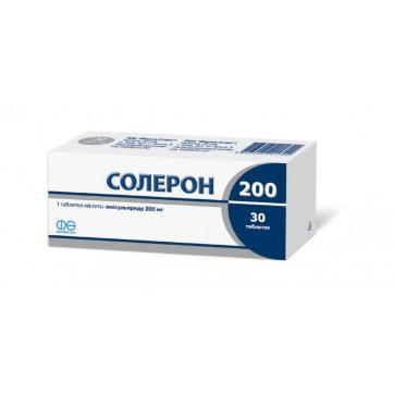 Солерон 200 табл. 200 мг блістер №60 інструкція та ціни