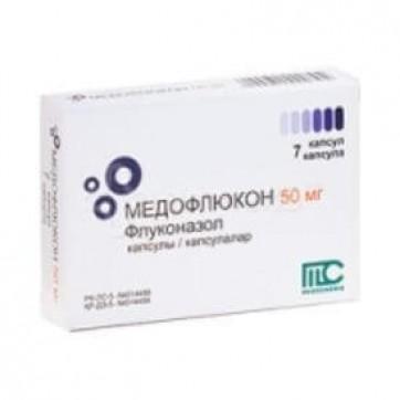 Медофлюкон капс. 50 мг №7 інструкція та ціни