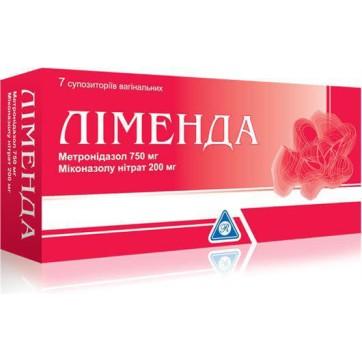 Ліменда суп. піхв. блістер, + 7 напальчників №7 інструкція та ціни