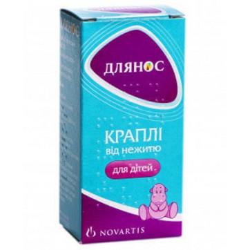 Длянос крап. назал. 0,05 % фл. 10 мл інструкція та ціни