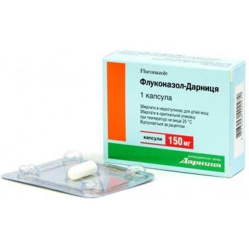 Флуконазол-дарниця капс. 150 мг інструкція та ціни