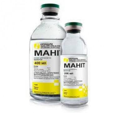 Маннит р-р д/инф. 150 мг/мл бутылка 200 мл инструкция и цены