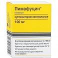Пимафуцин супп. вагинал. 100 мг стрип №6
