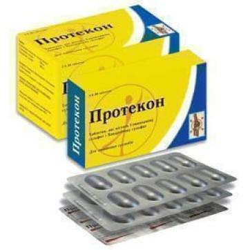 Протекон табл. п/о контейнер №60 инструкция и цены
