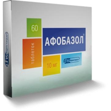 Афобазол табл. 10 мг блистер №60 инструкция и цены