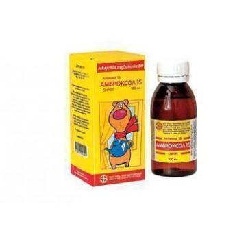 Амброксол 15 сироп 15 мг/5мл фл. полимер. 100 мл, с дозир. ложкой, в пачке инструкция и цены