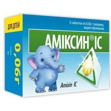 Амиксин ic табл. п/о 0,06 г блистер №3 инструкция и цены
