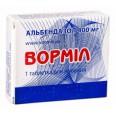 Вормил табл. жев. 400 мг блистер