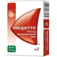 Никоретте пластырь трансдерм. 25 мг/16 часов пакетик №7