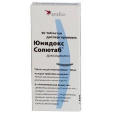 Юнидокс солютаб таблетки