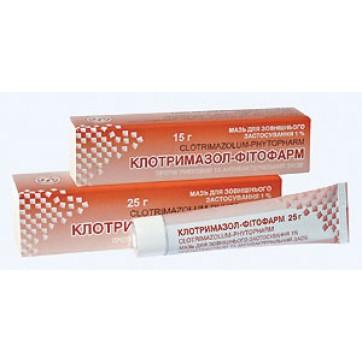 Клотримазол-фитофарм мазь 1 % туба 15 г инструкция и цены
