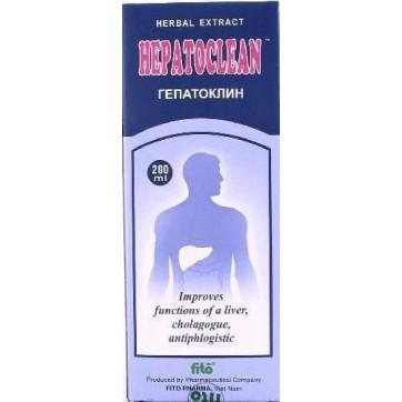 Гепатоклин экстракт фл. 200 мл инструкция и цены
