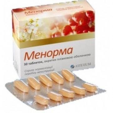 Менорма табл. п/плен. оболочкой 735 мг №30 инструкция и цены