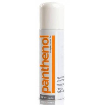 Пантенол (panthenol) спрей пена 136 г инструкция и цены