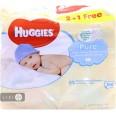 Вологі серветки Huggies Ultra Comfort Pure 168 шт