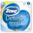 Туалетная бумага Zewa Deluxe белая №4