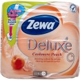 Туалетная бумага Zewa Deluxe персик №4
