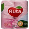 """Туалетная бумага """"рута"""" delicate aroma, розовая №4"""