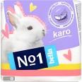 Туалетная бумага Bella Karo белая 4 шт