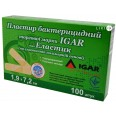 Пластырь бактерицидный Igar эластик 1,9 см х 7,2 см №100