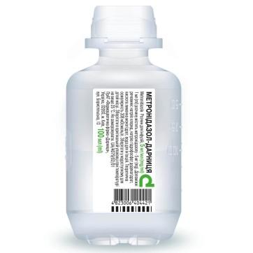 Метронидазол-дарница р-р д/инф. 5 мг/мл фл. 100 мл инструкция и цены