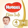 Подгузники Huggies Elite Soft 4 Mega 8-14 кг 66 шт