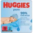 Влажные салфетки Huggies Ultra Comfort Pure 168 шт