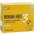 Інулін-Нео 3 для дітей пакет-саше, ванілін №10