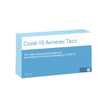 Тест-набор Covid-19 Антиген тест МБА Verus 19Ag 1 kt №1 цены и отзывы