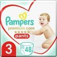 Подгузники-трусики Pampers Premium Care Pants Midi 6-11 кг 48 шт