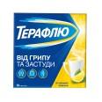 Терафлю от гриппа и простуды со вкусом лимона пор. д/оральн. р-ра №10