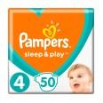 Подгузники Pampers Sleep & Play 4 Maxi 9-14 кг 50 шт