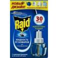 Raid жидкость против комаров 30 ночей, сменный блок