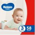 Подгузники Huggies Classic 3 Jumbo 58 шт