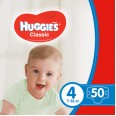 Підгузки Huggies Classic 4 (7-18 кг) 50 шт