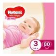 Подгузники Huggies Ultra Comfort 3 (5-9 кг) для девочек 80 шт