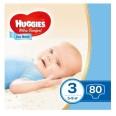 Подгузники Huggies Ultra Comfort Mega для мальчиков размер 3, 5-9 кг 80 шт
